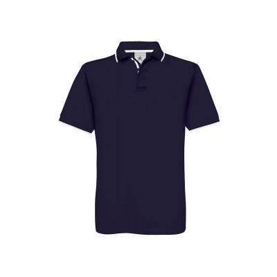 Polo Safran Sport colore navy/white taglia S