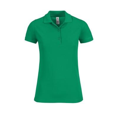 Polo Safran Timeless Women colore kelly green taglia XS