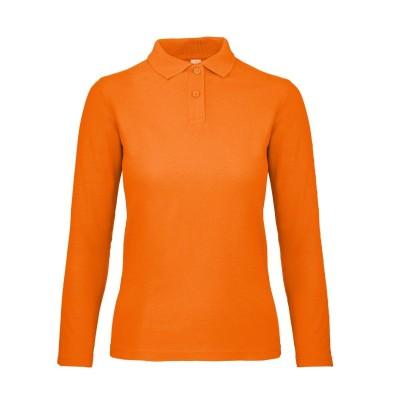 Polo ID.001 LSL /Women colore orange taglia XS