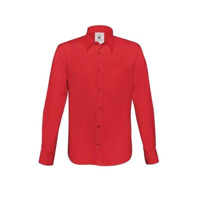 Camicie London colore deep red taglia S
