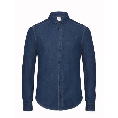 Camicie Dnm Vision /Men colore deep blue denim taglia S