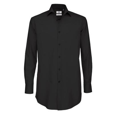 Camicie Black Tie LSL /Men colore black taglia S