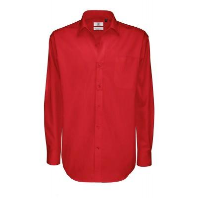 Camicie Sharp LSL /Men colore deep red taglia S