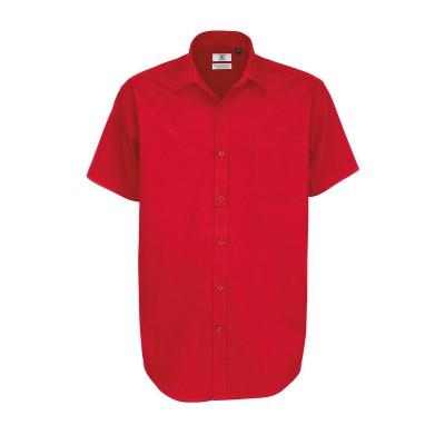 Camicie Sharp SSL /Men colore deep red taglia S