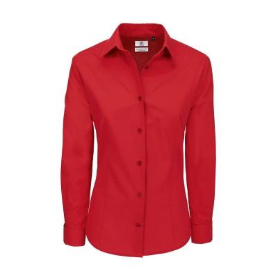 Camicie Heritage LSL /Women colore deep red taglia XS