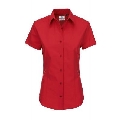 Camicie Heritage SSL /Women colore deep red taglia XS