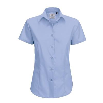 Camicie Smart Short Sleeve Women colore bussines blue taglia XS