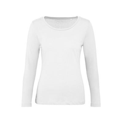 T-Shirt Inspire LSL T /Women colore white taglia XS