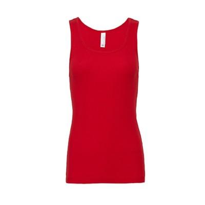 T-Shirt Women's Baby Rib Tank colore Red taglia S