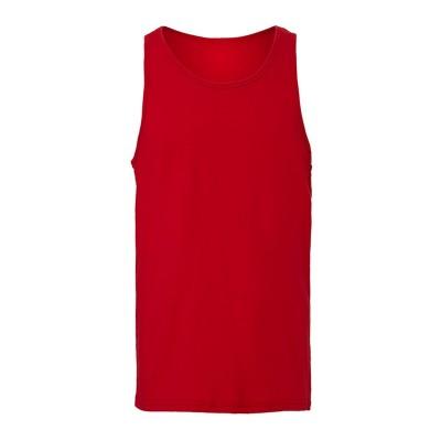 T-Shirt Unisex Jersey Tank colore Red taglia S