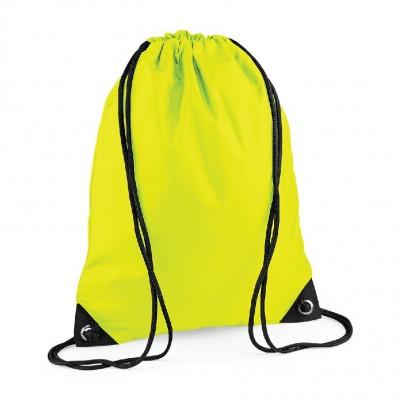 Borse Premium Gymsac colore fluorescent Yellow taglia UNICA