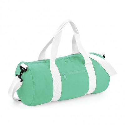 Borse Original Barrel Bag colore mint green/white taglia UNICA