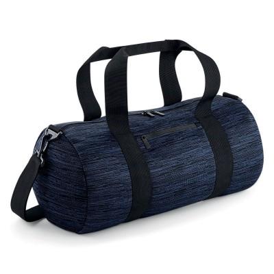 Borse Duo Knit Barrel Bag colore Navy/Black taglia UNICA