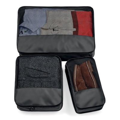 Borse Escape Packing Cube Set colore black taglia UNICA