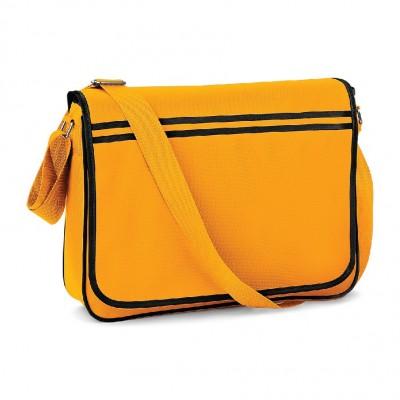 Borse Retro Messenger colore gold/black taglia UNICA