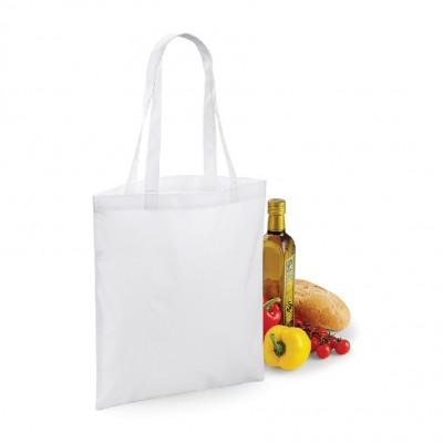 Borse Sublimation Shopper colore white taglia UNICA