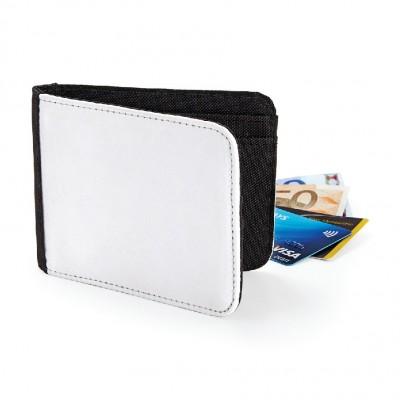 Borse Sublimation Wallet colore black taglia UNICA