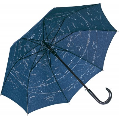 Ombrelli AC woodshaft regular umbrella colore night blue/starsky taglia UNICA