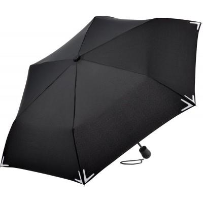 Ombrelli Mini umbrella Safebrella LED light colore Black taglia UNICA