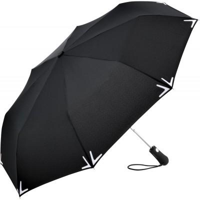 Ombrelli AC mini umbrella Safebrella® LED colore Black taglia UNICA