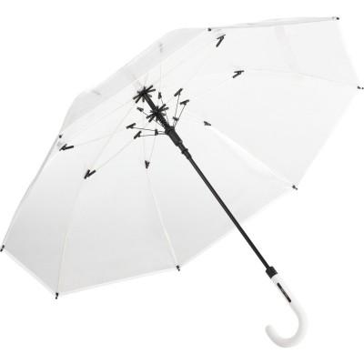 Ombrelli AC regular umbrella FARE®-Pure colore transparent-white taglia UNICA