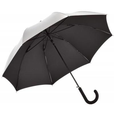 Ombrelli AC regular umbrella FARE®-Collection colore Silver/Black taglia UNICA