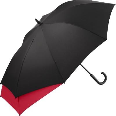 Ombrelli AC midsize umbrella FARE-Stretch colore Black-Red taglia UNICA