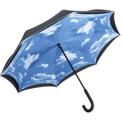 Ombrelli Regular umbrella FARE®-Contrary colore black/cloud-design taglia UNICA