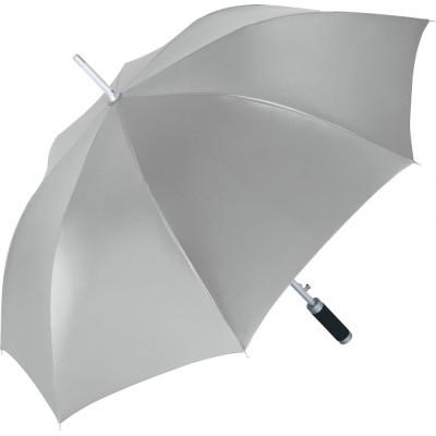 Ombrelli AC alu regular umbrella Windmatic colore Silver/Black taglia UNICA