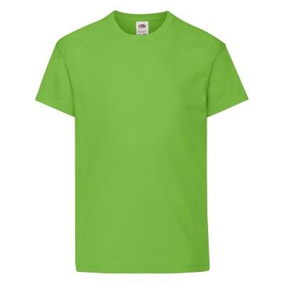T-Shirt Kids Original T colore lime taglia 3/4