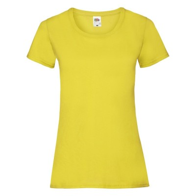 T-Shirt Ladies Valueweight T colore yellow taglia XS