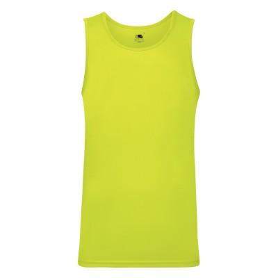 T-Shirt Performance Vest colore bright yellow taglia S
