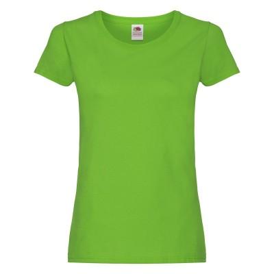 T-Shirt Ladies Original T colore lime taglia XS