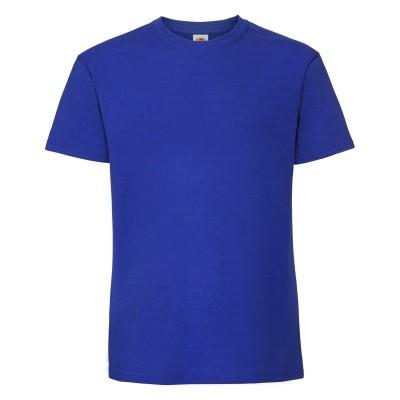 T-Shirt Ringspun Premium T colore royal blue taglia S