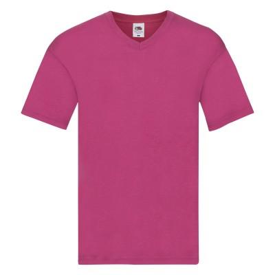 T-Shirt Original V-Neck T colore fuchsia taglia S