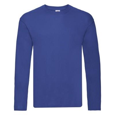 T-Shirt Original Long Sleeve T colore royal blue taglia S