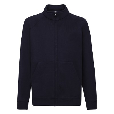 Felpe Kids Classic Sweat Jacket colore deep navy taglia 5/6