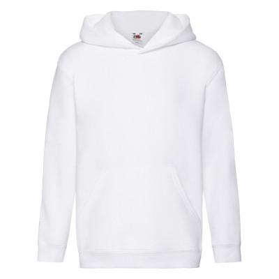 Felpe Kids Premium Hooded Sweat colore white taglia 5/6