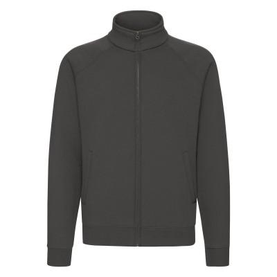 Felpe Premium Sweat Jacket colore light graphite taglia S