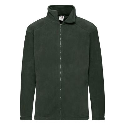 Pile Full Zip Fleece colore bottle green taglia S