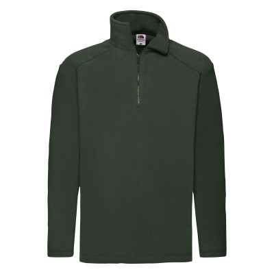 Pile Half Zip Fleece colore bottle green taglia S