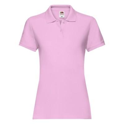 Polo Ladies Premium Polo colore light pink taglia XS