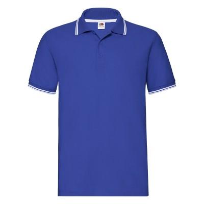 Polo Premium Tipped Polo colore royal blue-white taglia S