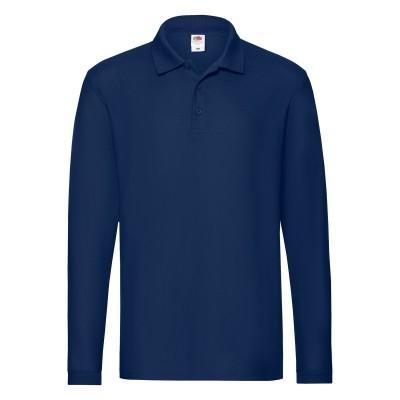 Polo Premium Long Sleeve Polo colore navy taglia S