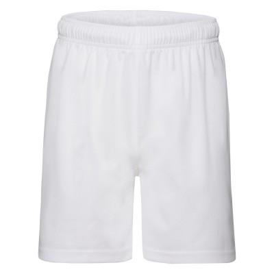 Pantaloni Kids Performance Shorts colore white taglia 3/4