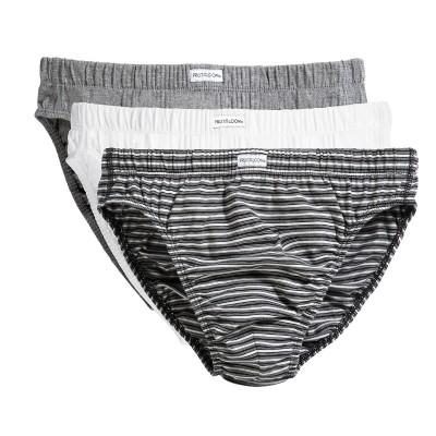 Underwear Classic Slip 3 Pack colore black stripe pack taglia S