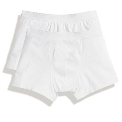 Underwear Classic Shorty 2 Pack colore white taglia S