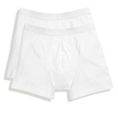 Underwear Classic Boxer 2 Pack colore white taglia S