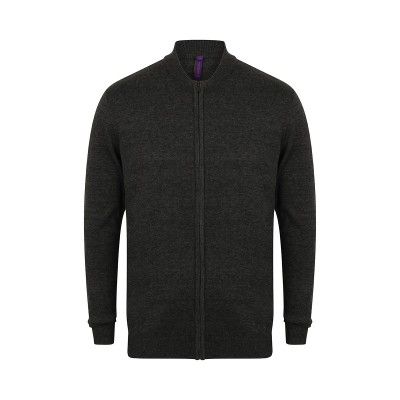Camicie Unisex Knitted Bomber Jacket colore grey marl taglia XXS