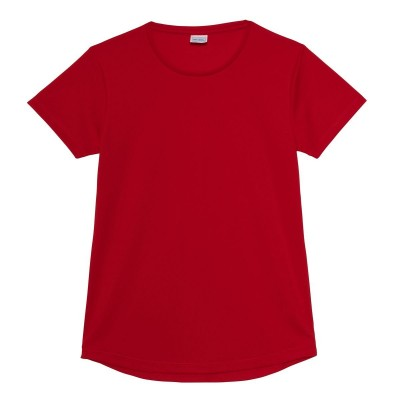 T-Shirt Girlie Cool T colore fire red taglia XS